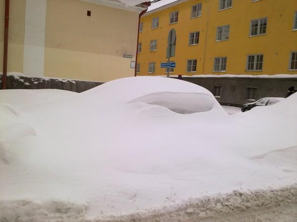 Bil eller snödriva?