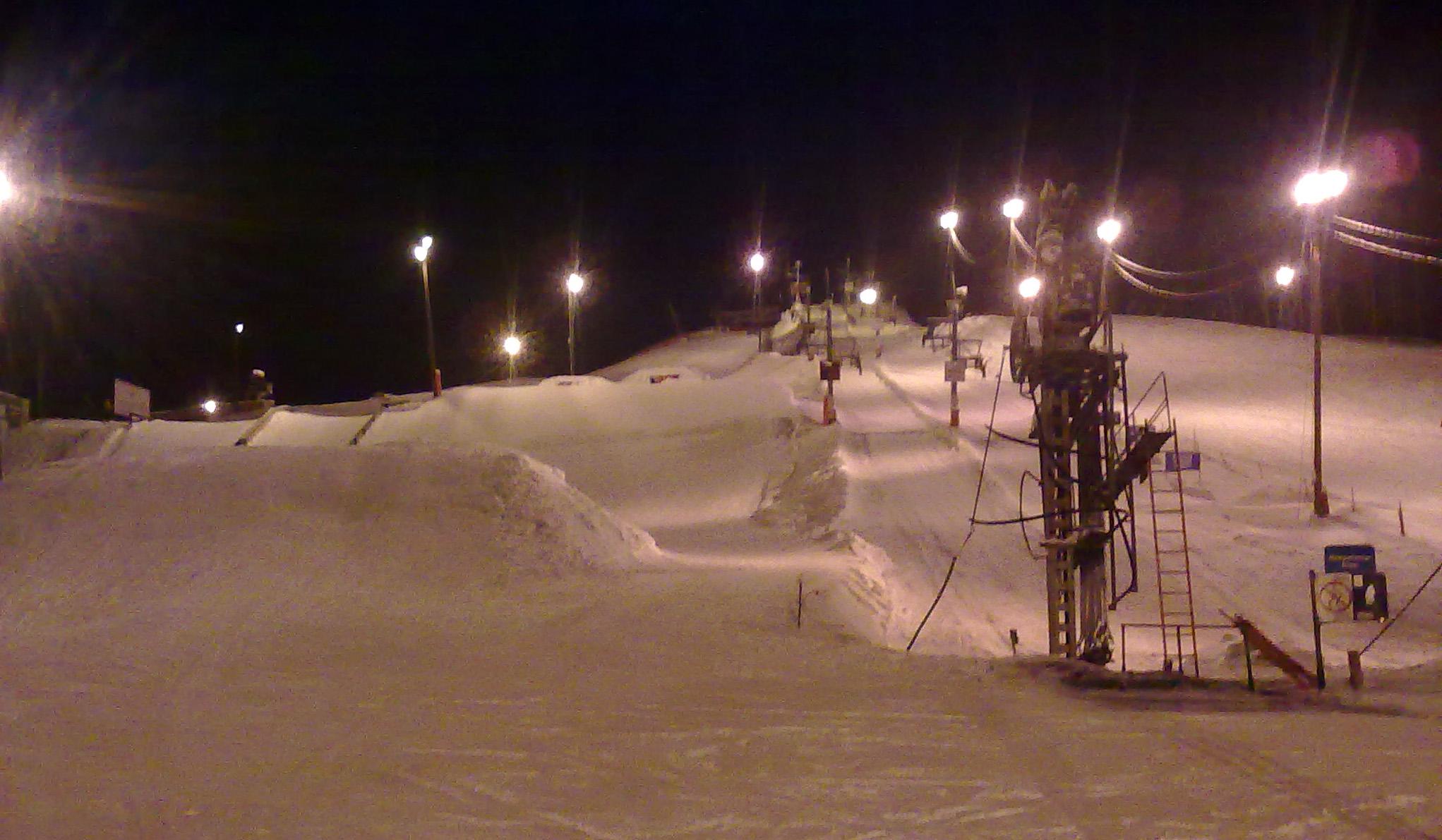 Snowboardsäsongen inledd idag!