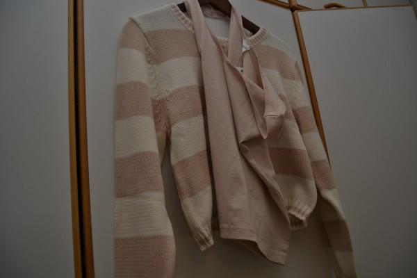 .. och ännu mera testning, här den nya korta tröjan från Monki