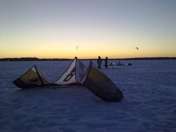En random kite