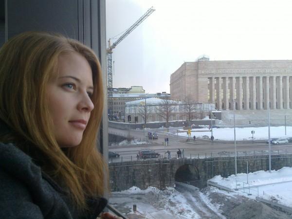 Utsikten över riksdagshuset var finast, tyckte jag