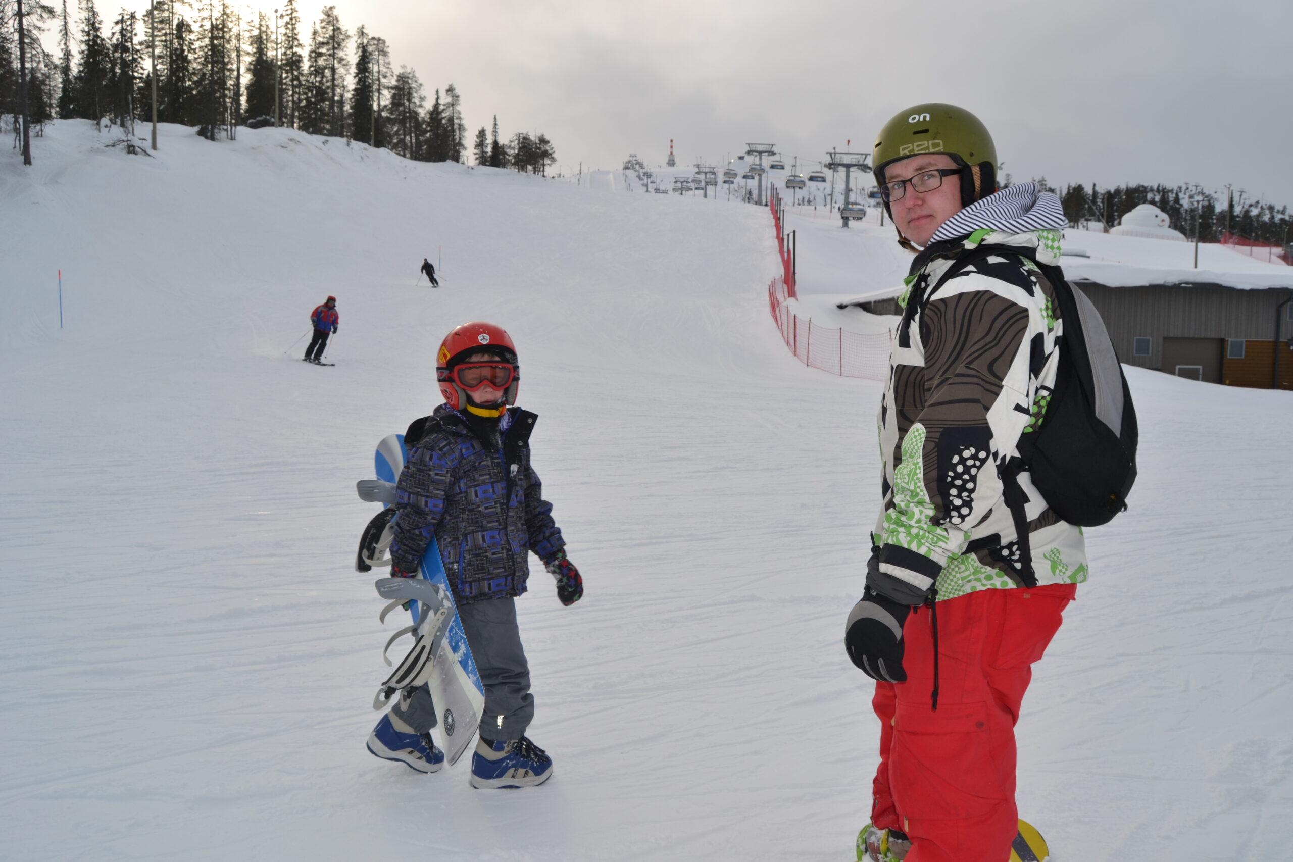 Snowboard är också träning, fast roligare!