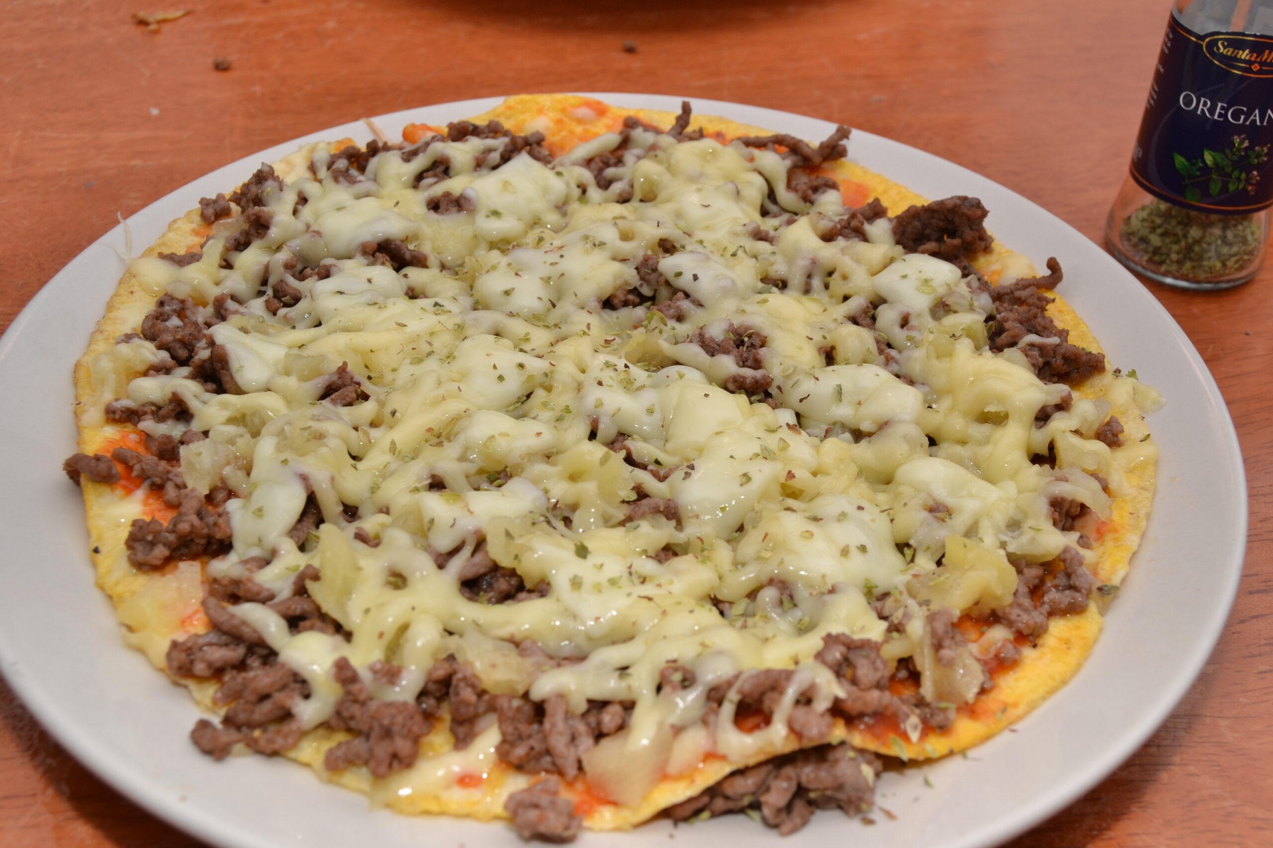 LCHF- pizza