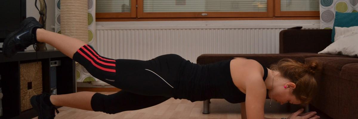 Tufft hemmaträningsprogram utan vikter