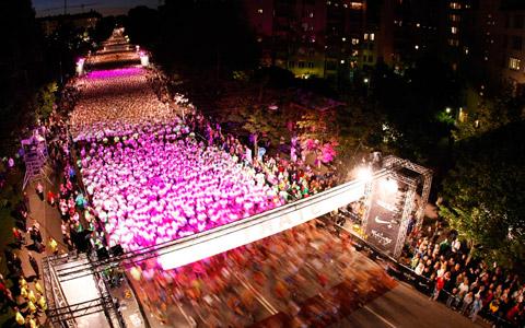 Midnight run Helsinki