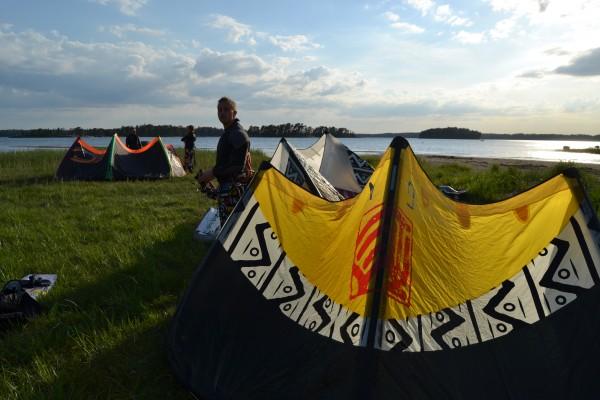 Kiting kallvik