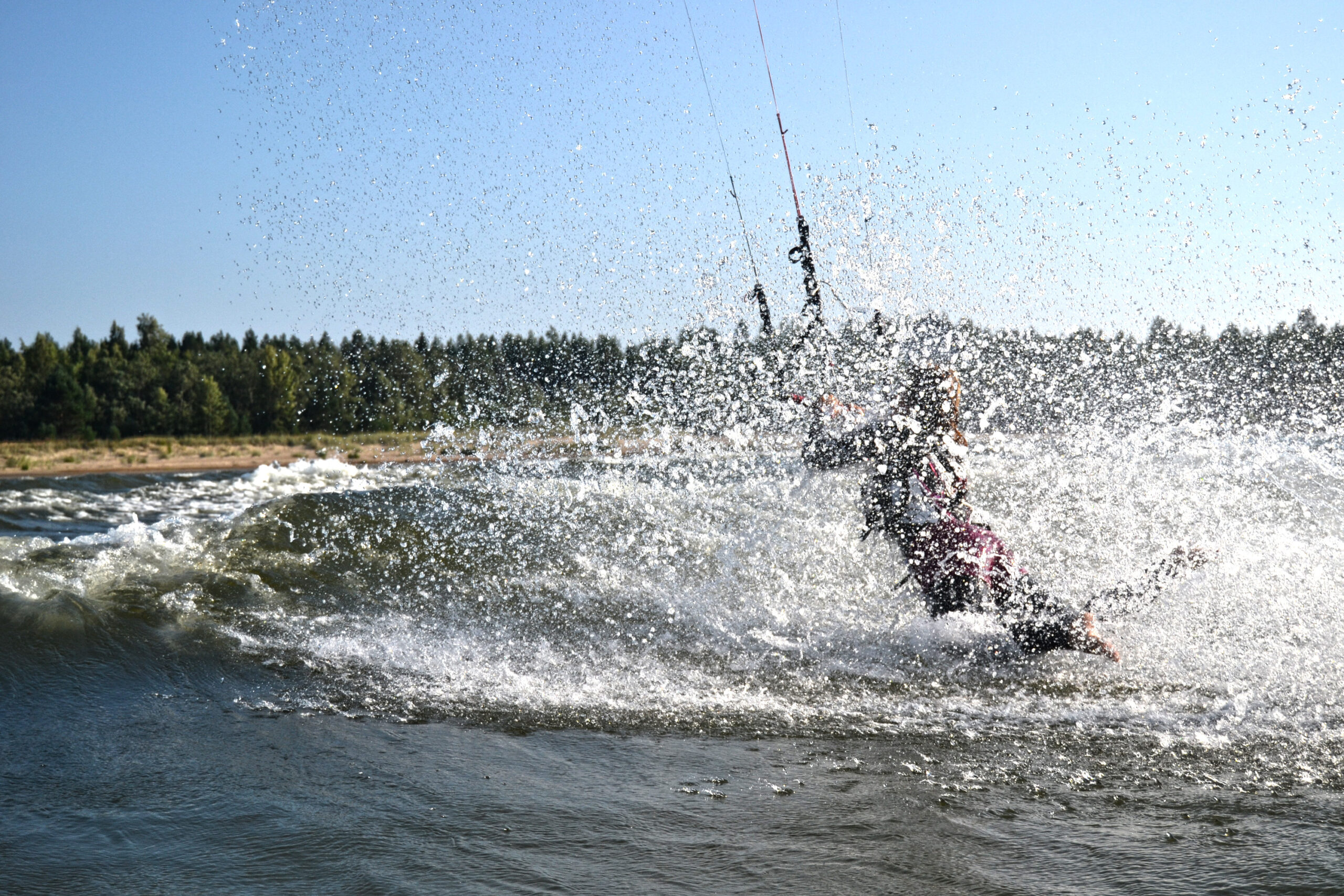 Kitesurfing vid Storsand