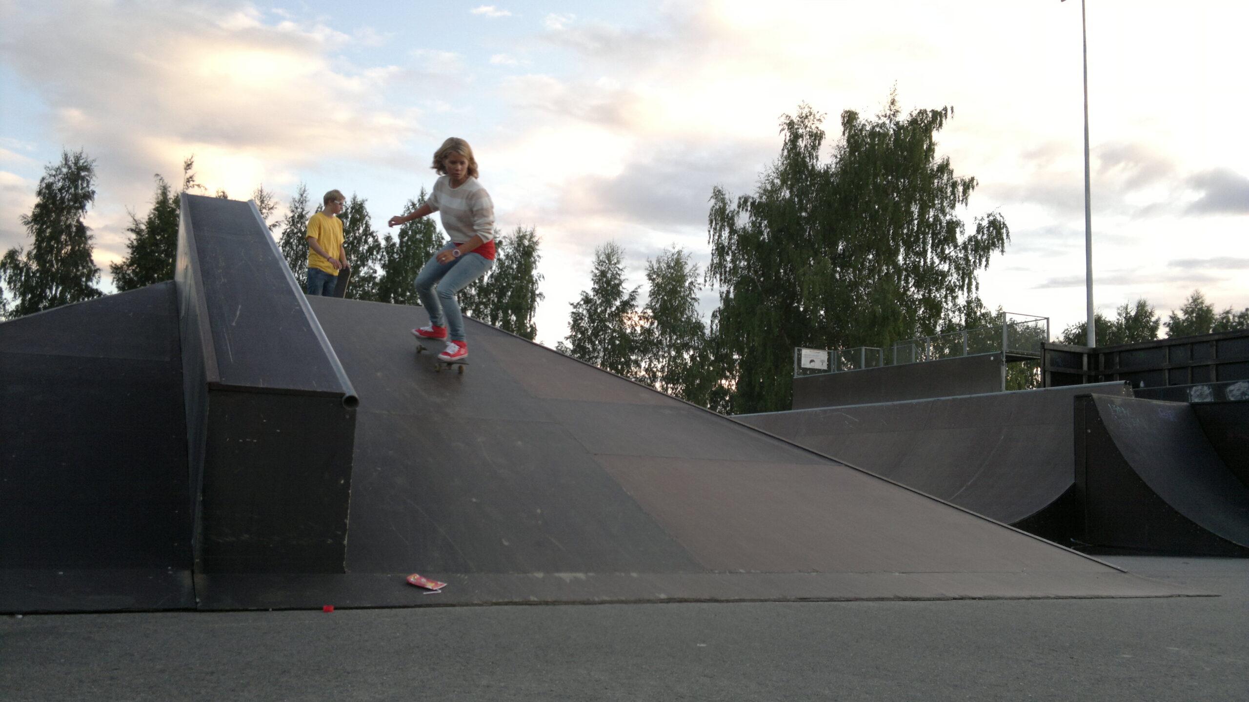Skate i Rönnbacka