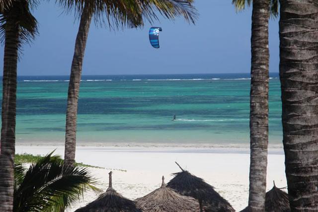 Kitesurfingresa till Kenya