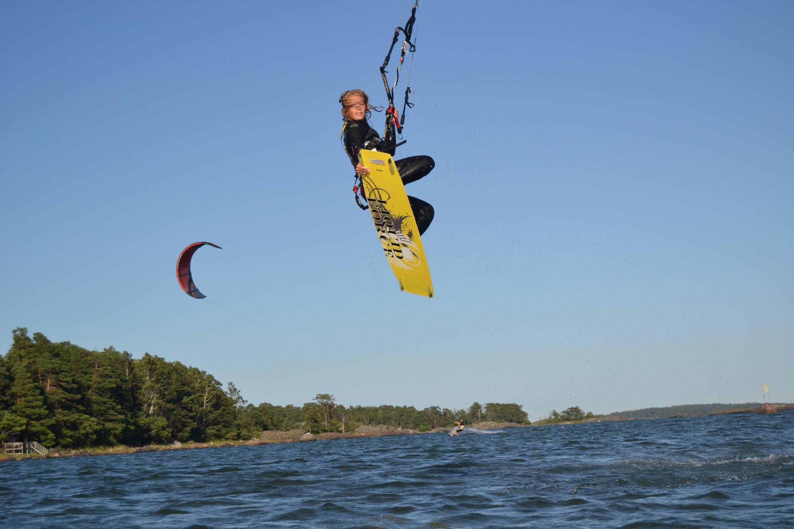 Intervju om kitesurfing och träning