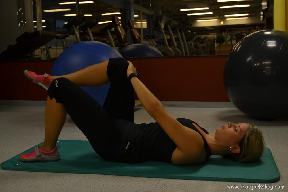 Övningar för sjuk rygg