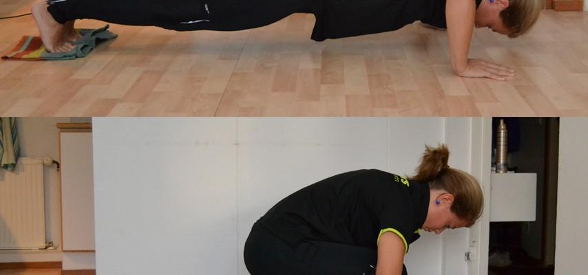 Dagens övning: Tuff funktionell övning för hela kroppen