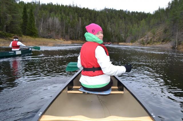Oulanka paddling