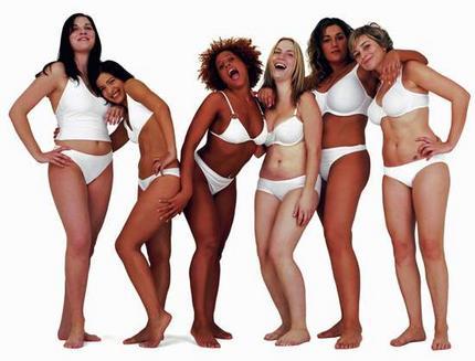 Var nöjd med din kropp - Dove reklam