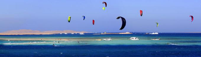 Kitesurfing i Hurghada i december