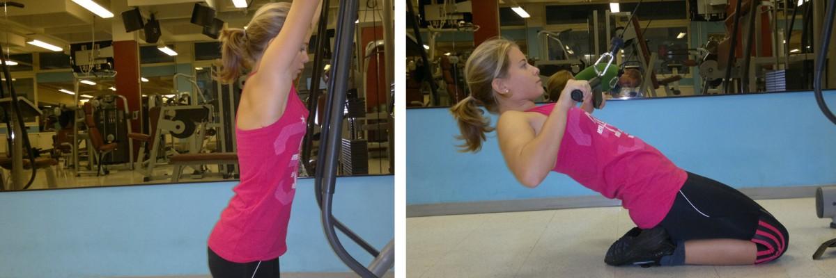 Dagens övning: Sittande ryggpress