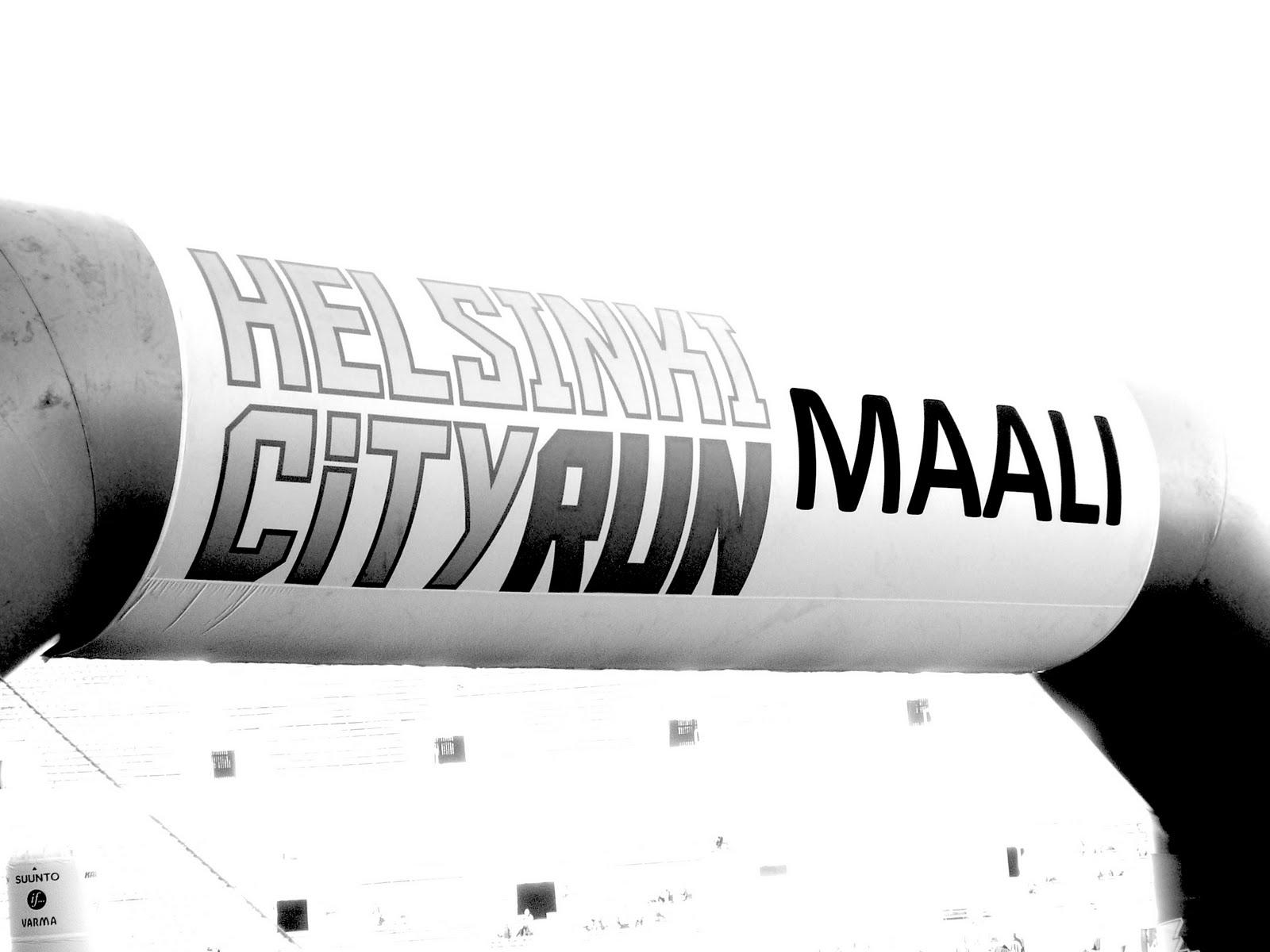 Helsinki City Run 5.5.2012