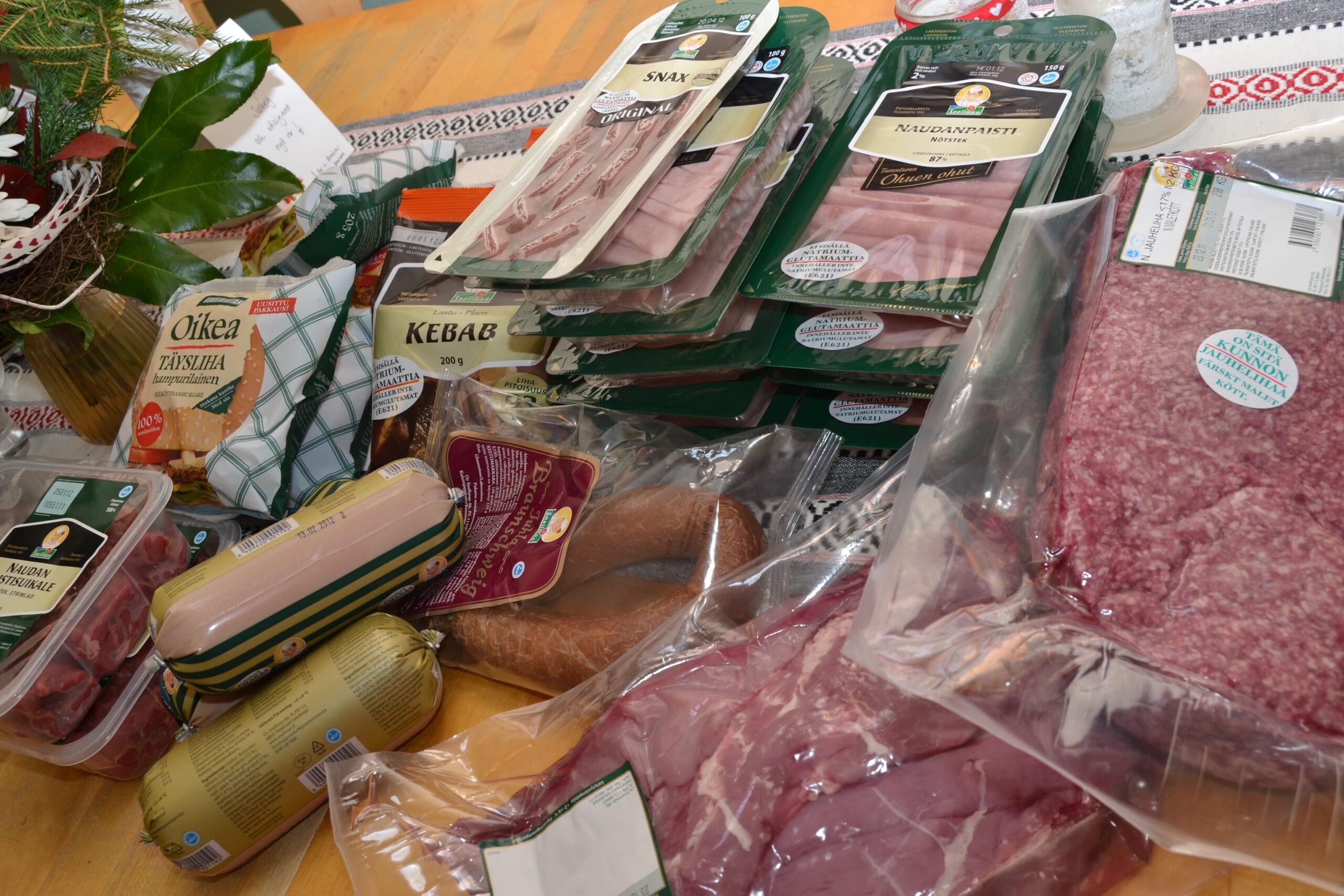 Kött i mängder