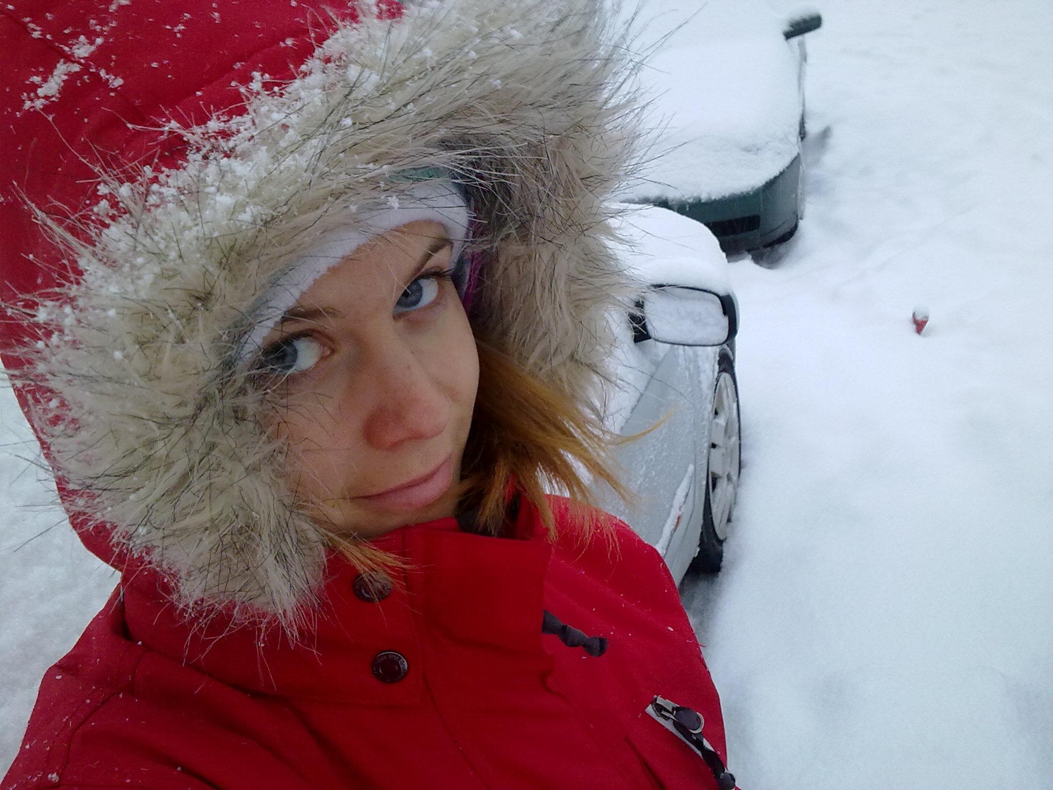 Snöigt veckoslut