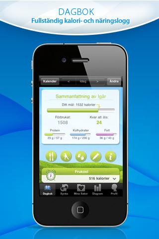 räkna kalorier app gratis