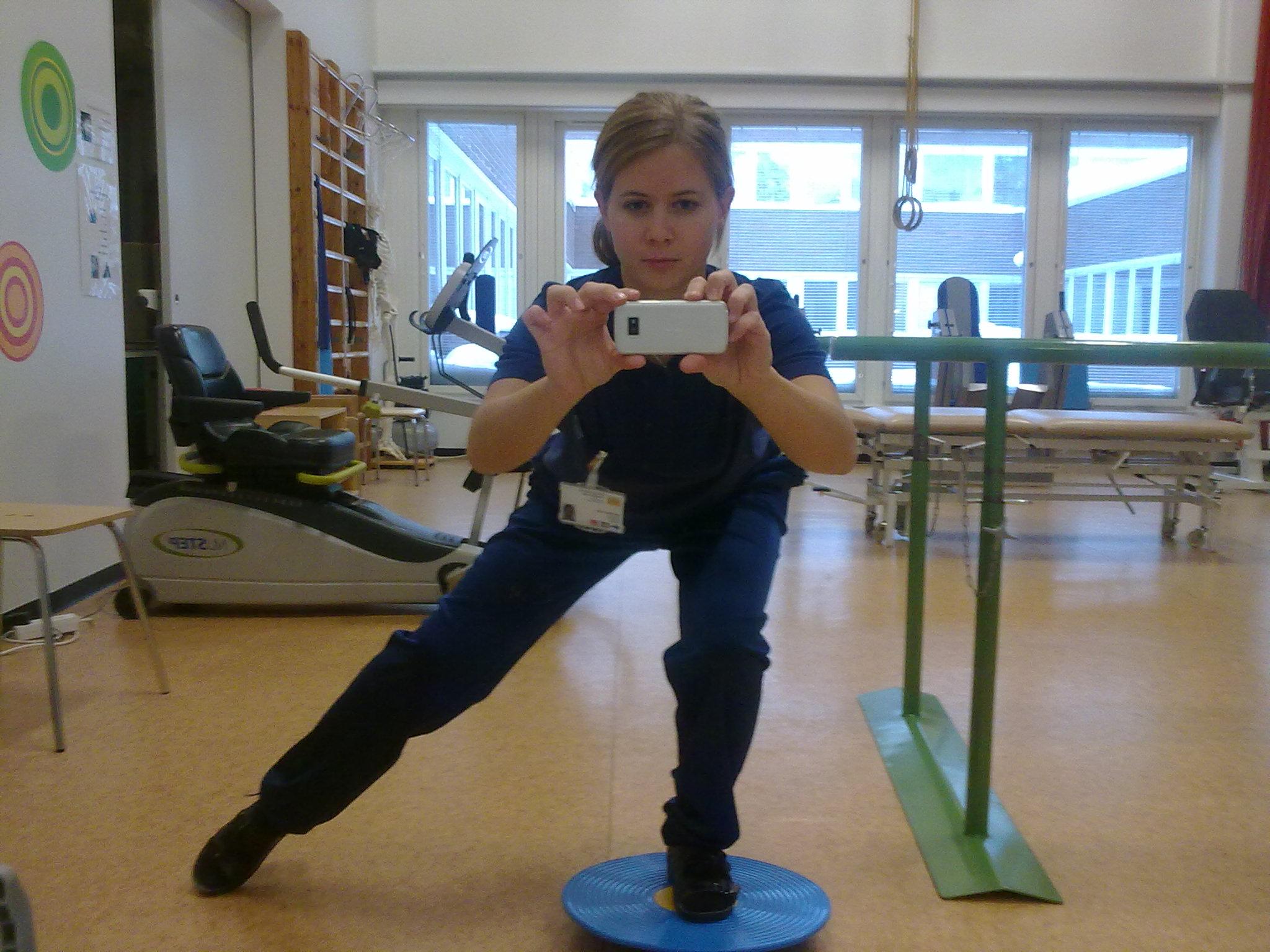 Träna muskelbalansen
