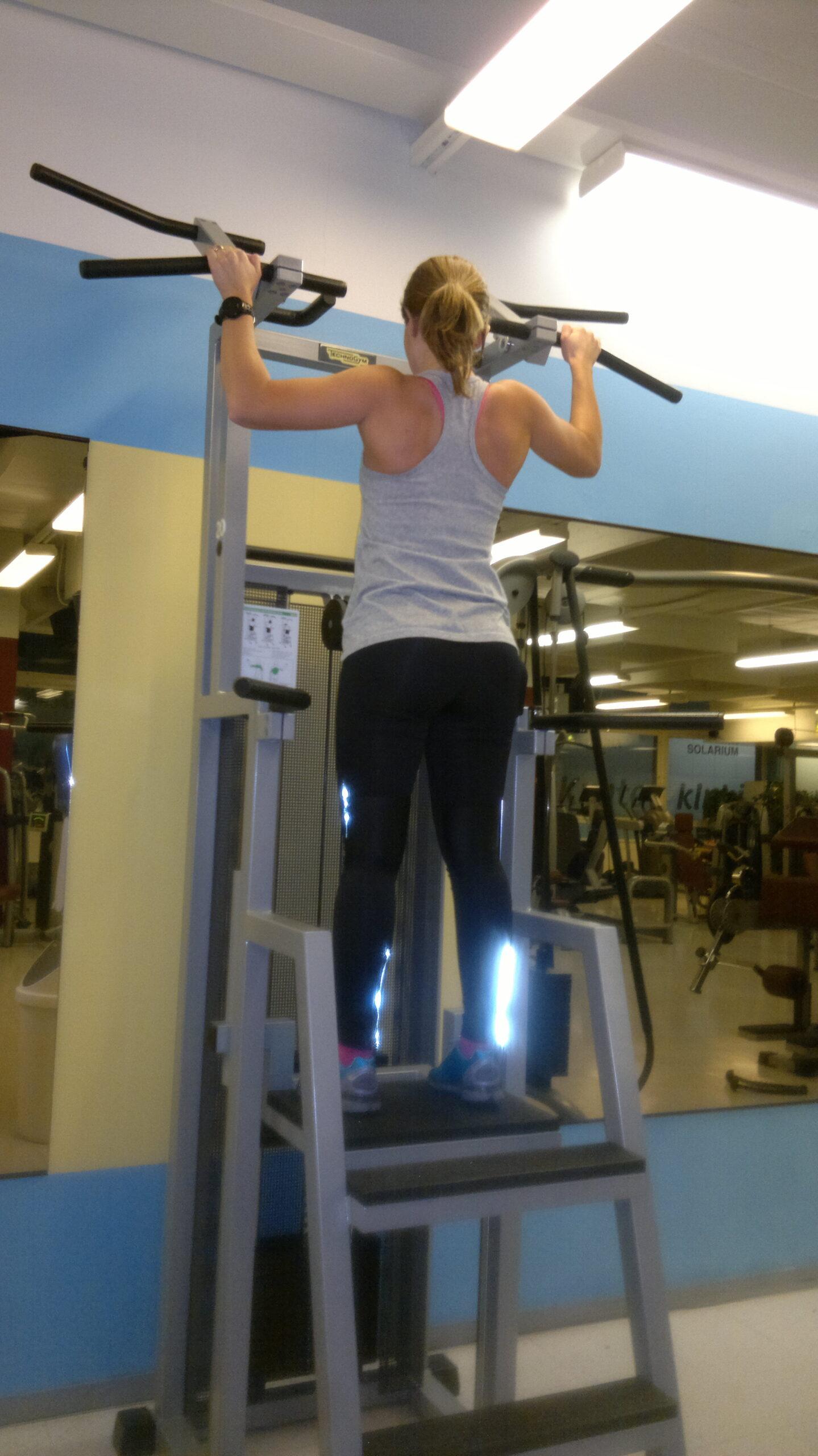 Ben- och ryggträning