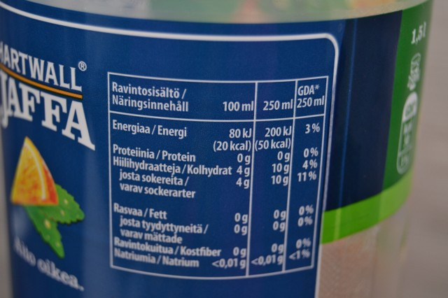 Jaffa läsk med stevia