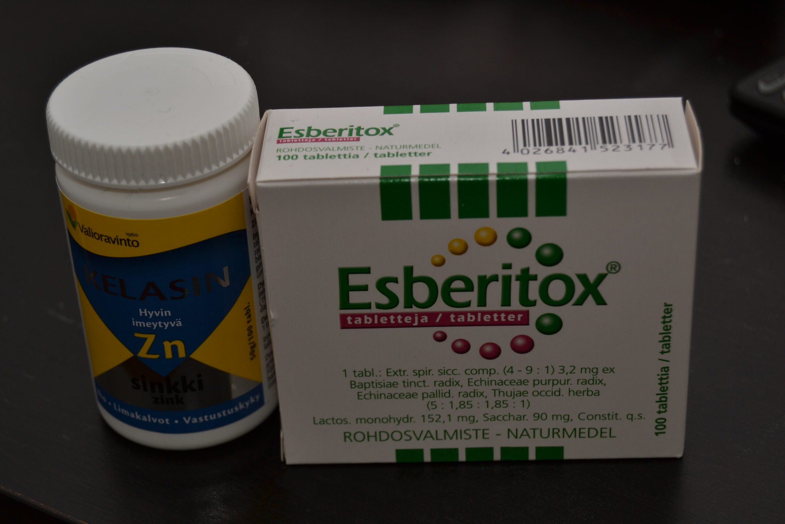 Läkemedel som höjer immunförsvaret: zink och esberitox