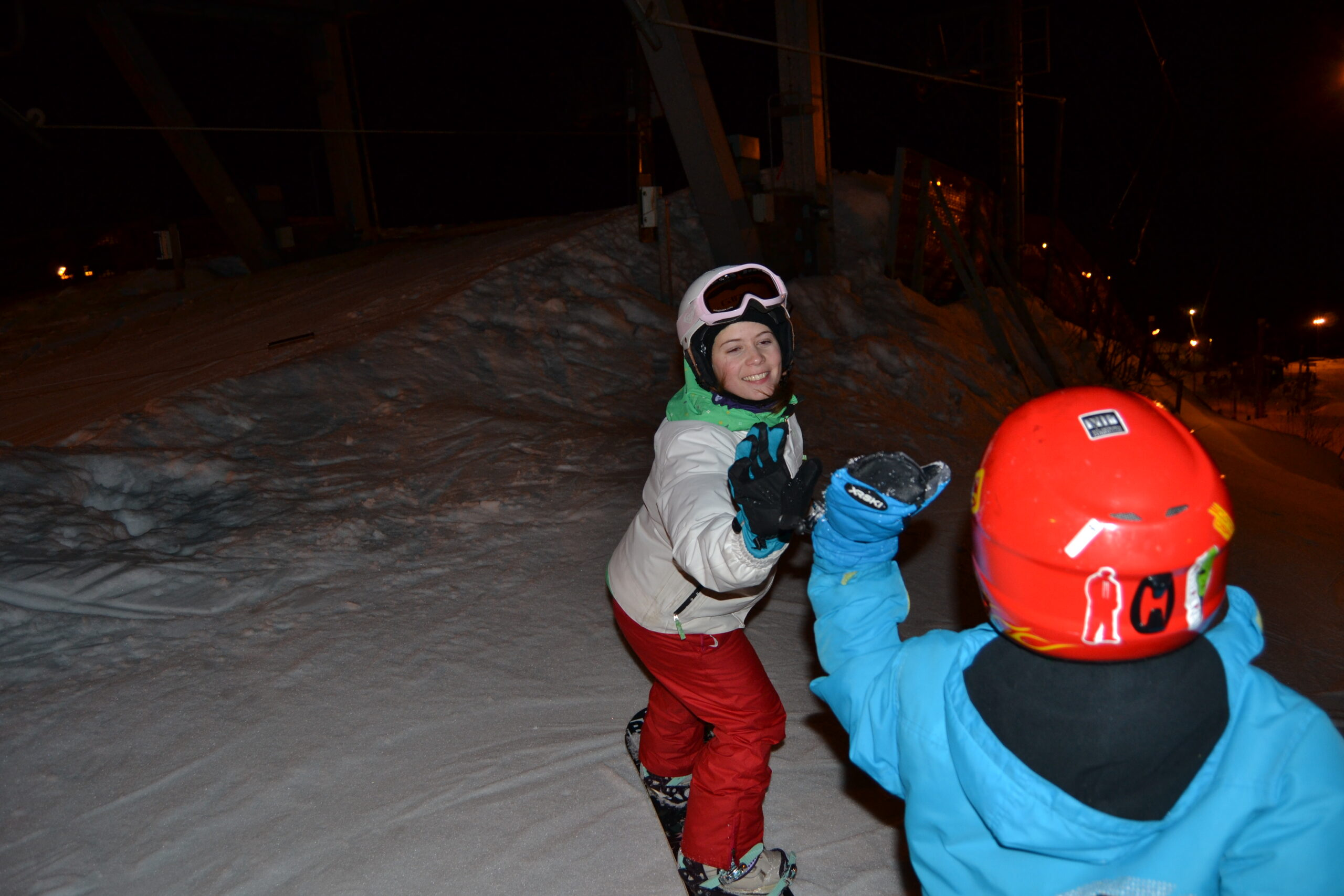 Snowboardkväll i Talma