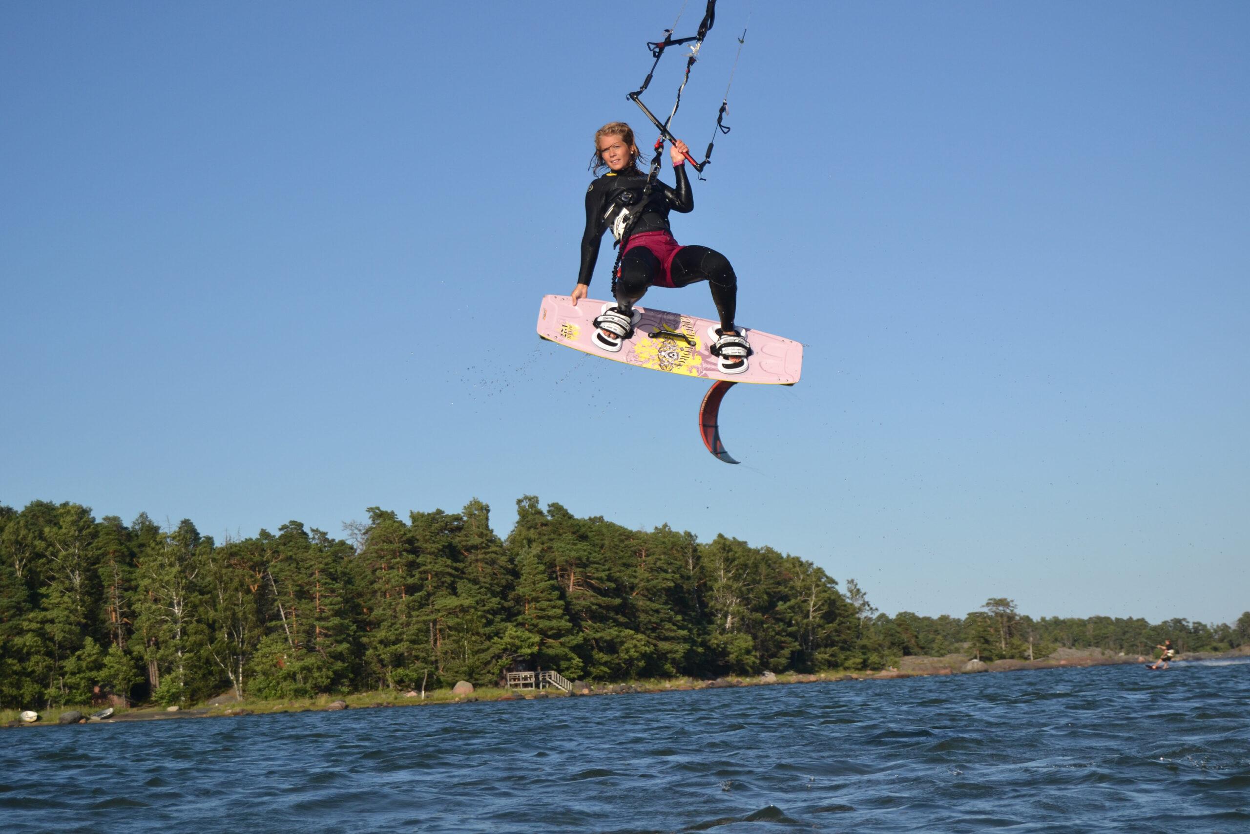 Träningsprogram för kitesurfare