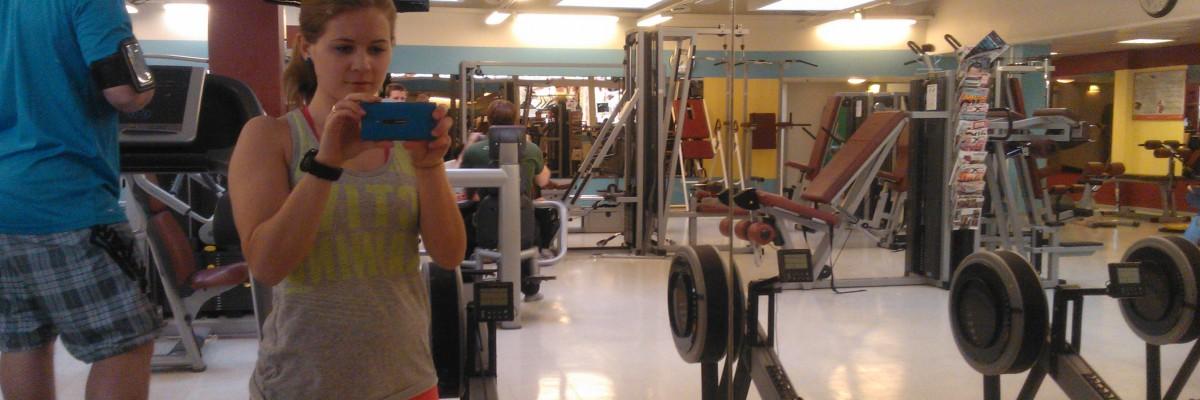 Använda muskler i spinning