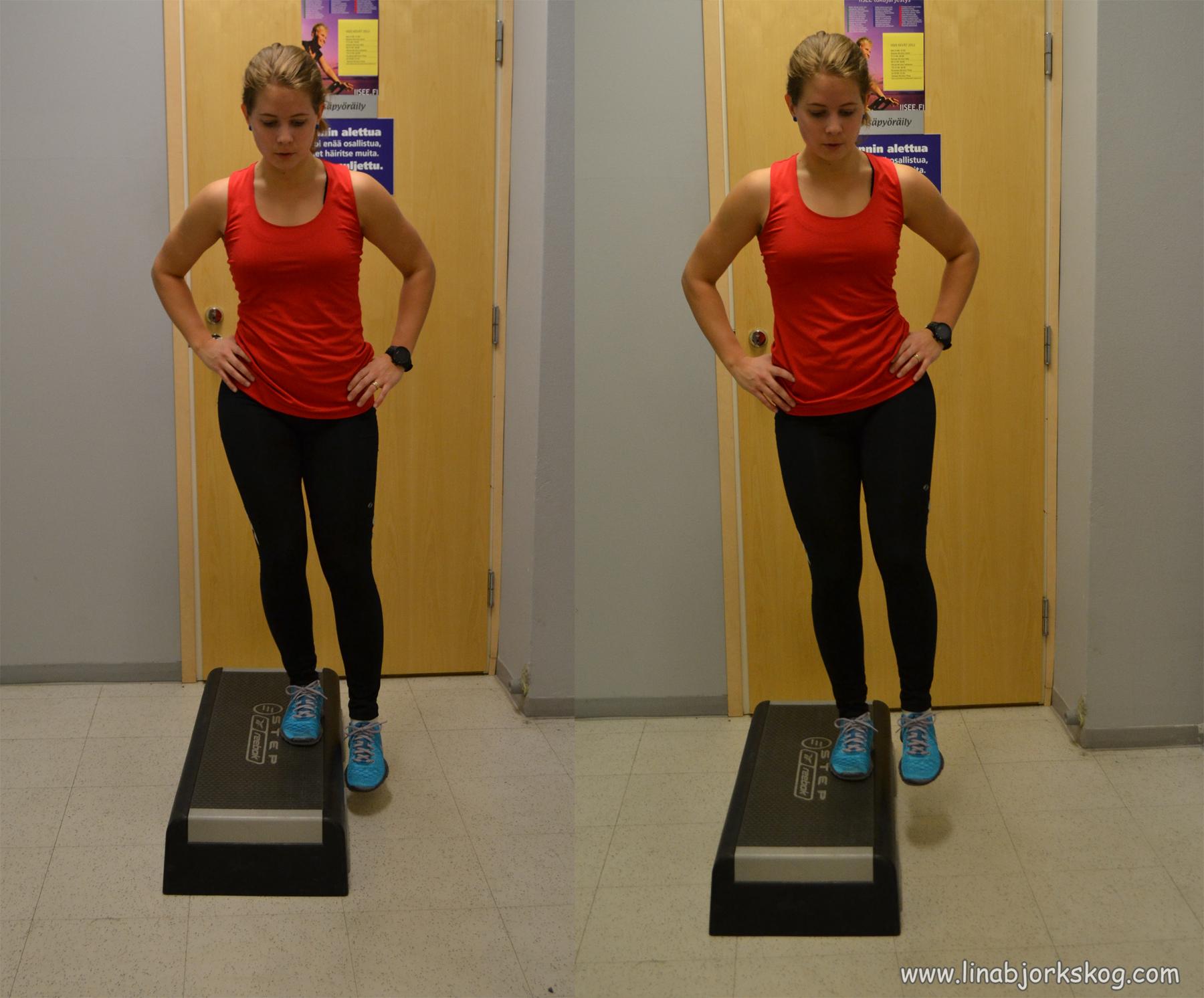 träna höfter gym
