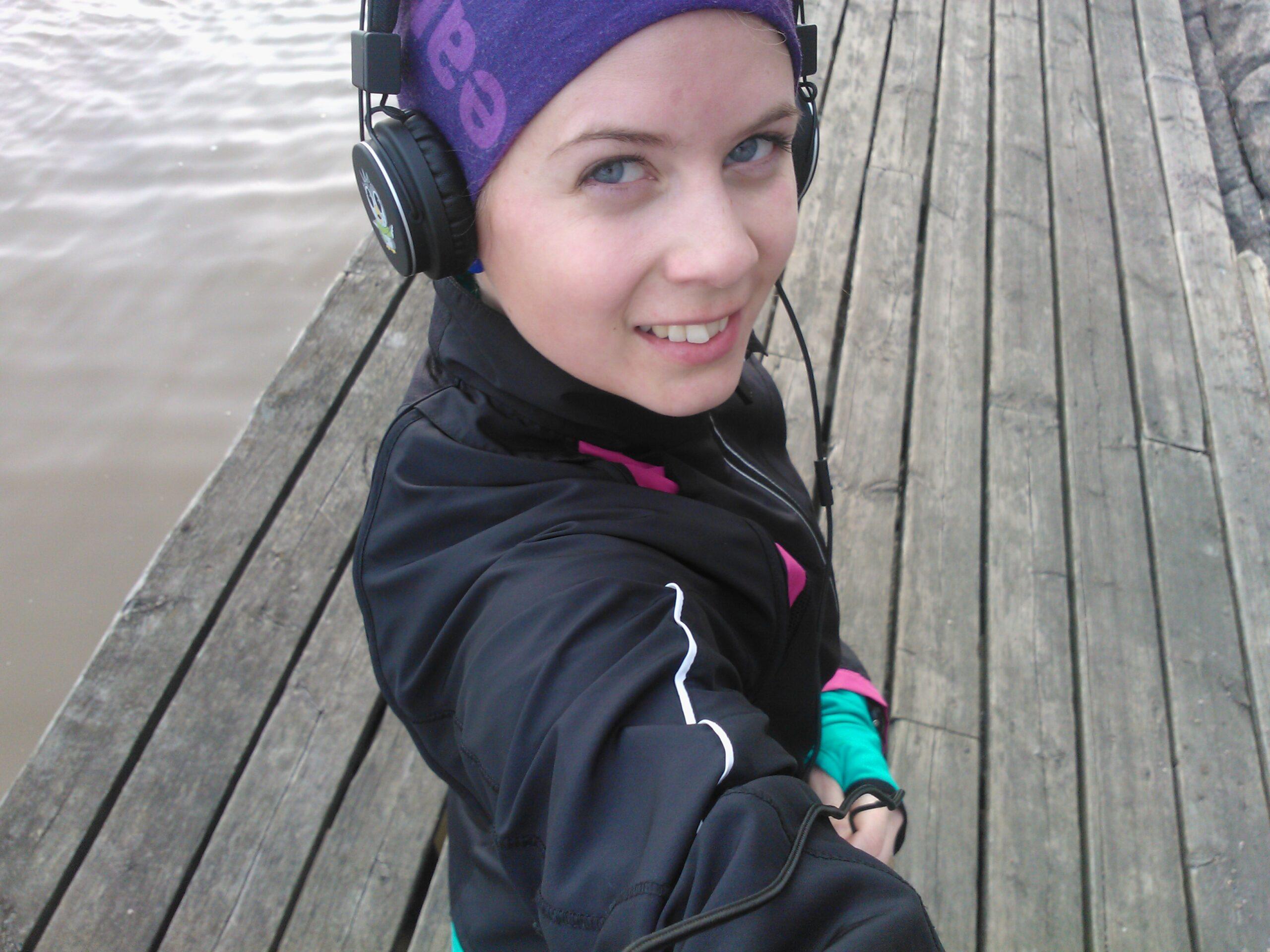 Radiointervju om löpning