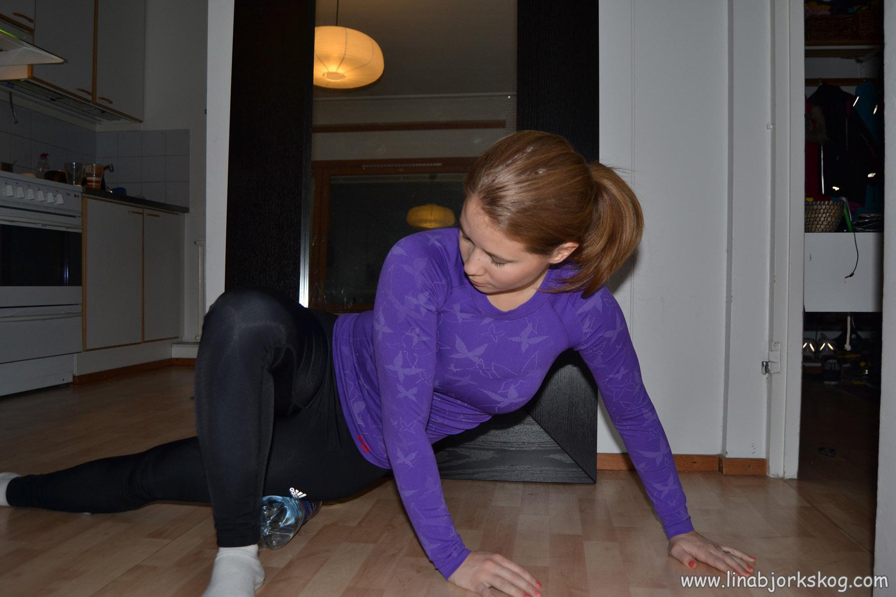 Stretchning av iliotibialis (ITB)