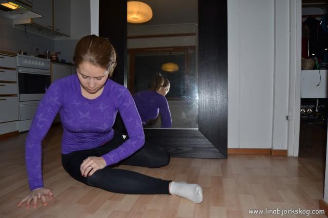 Stretchning för ITB senan