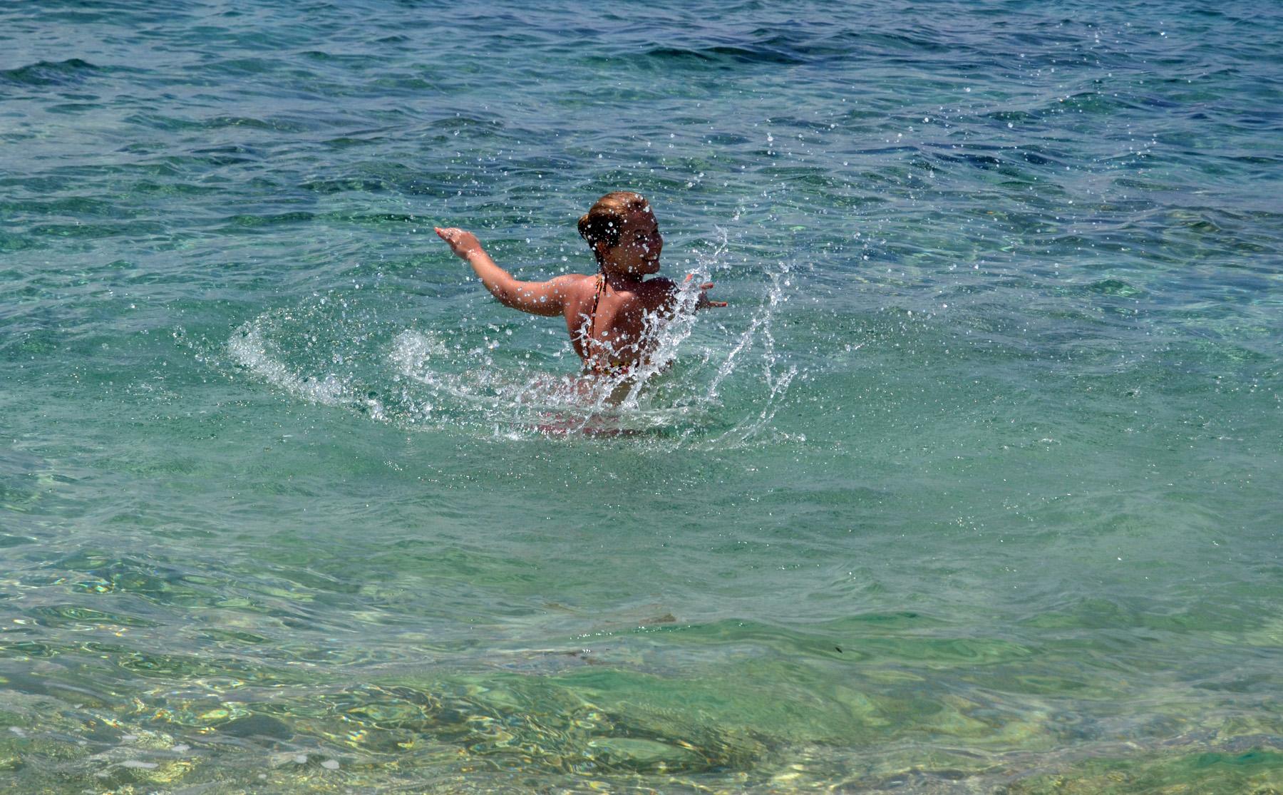 simning vatten