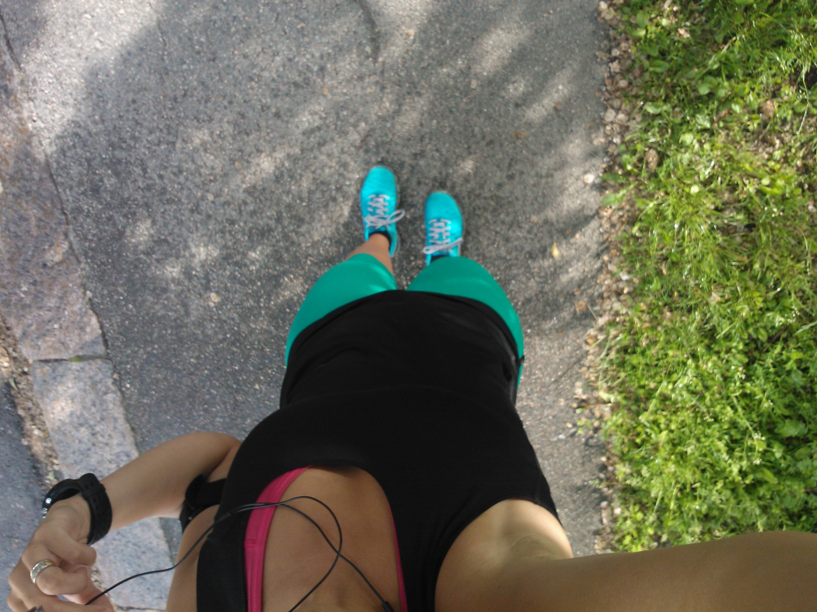 Oplanerad löpning