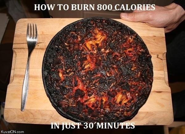 Bränn många kalorier snabbt