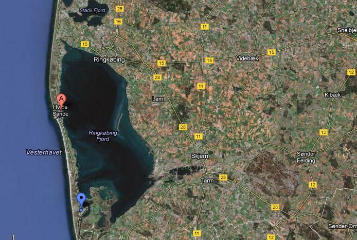 Kitesurfing i Danmark