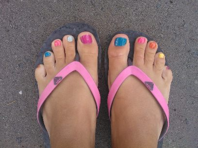 Glada naglar