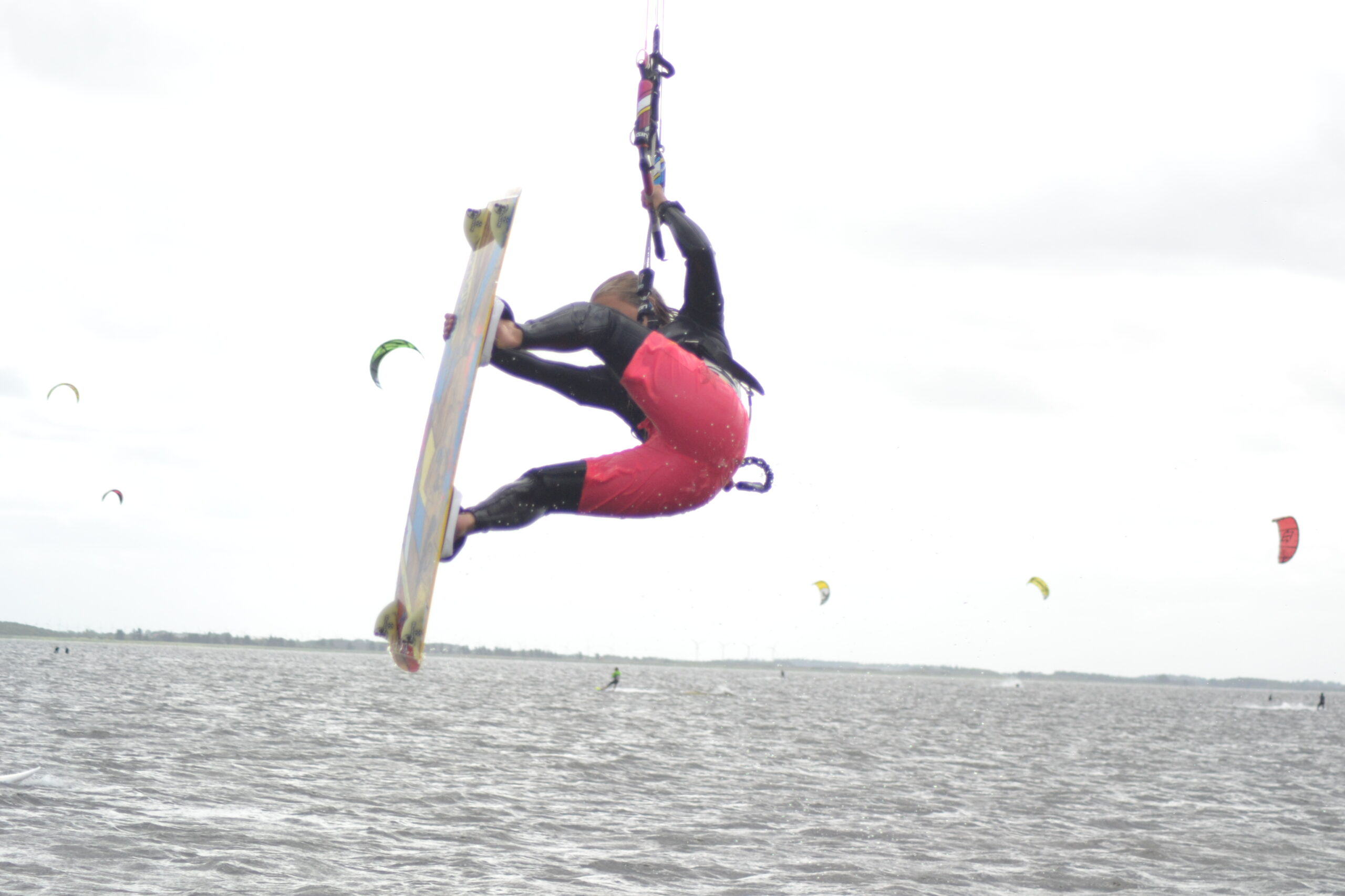 Kitesurfing som träning