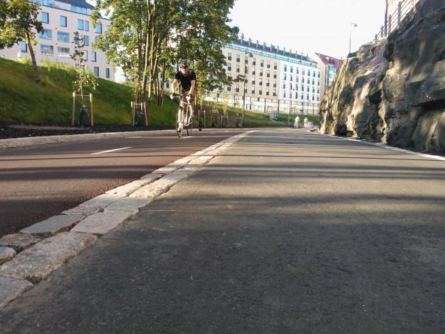 Ny cykel- och gångbana