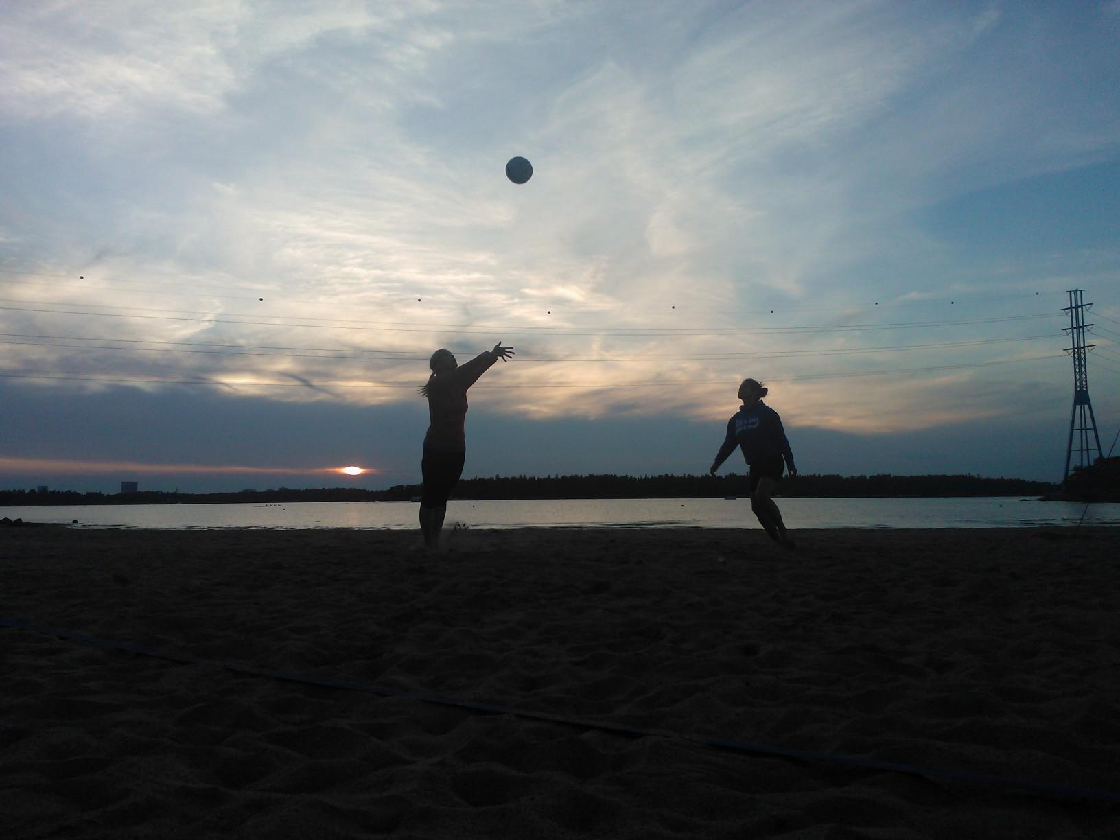Volleyboll på Hietsun