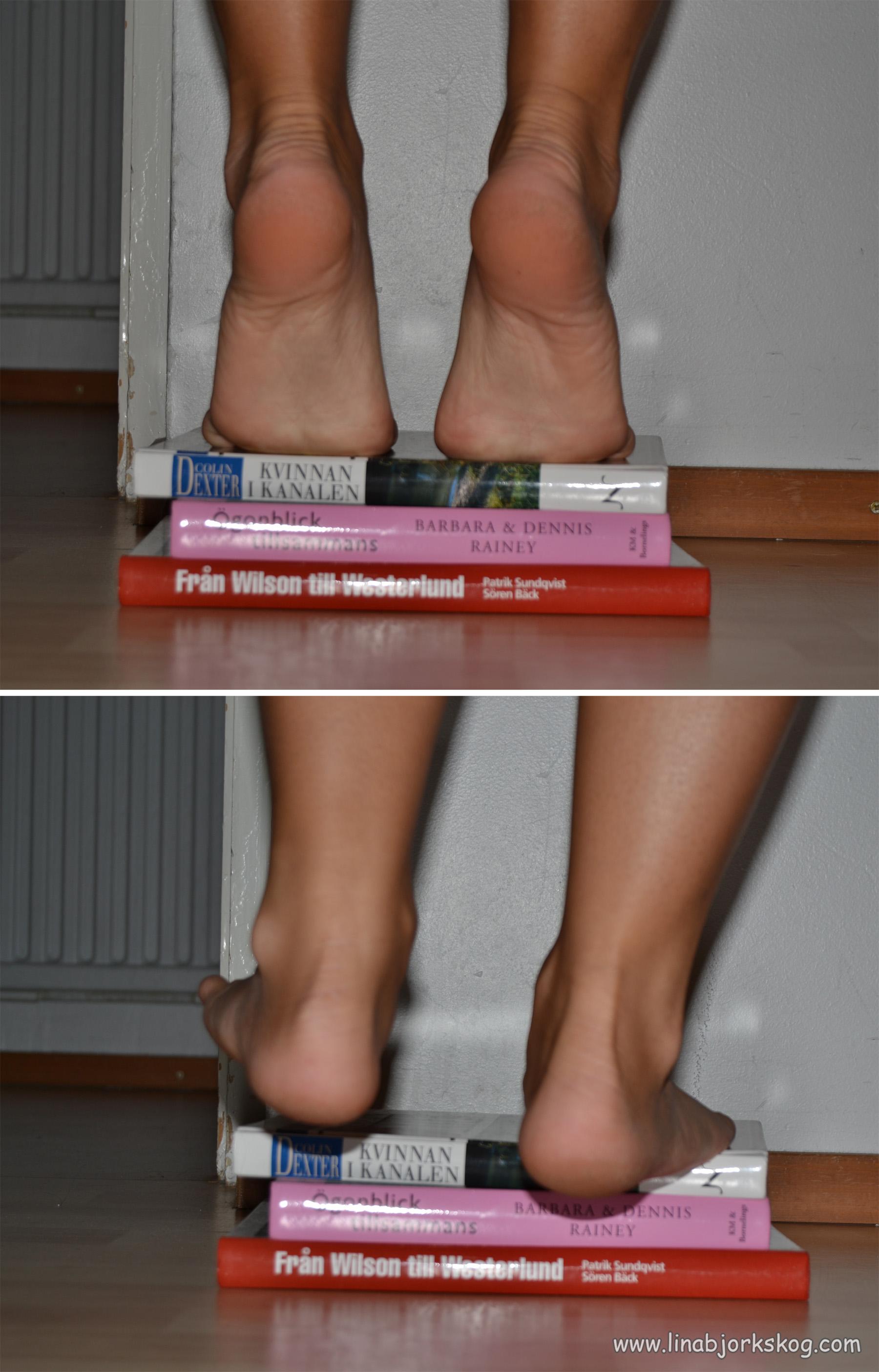 ont i foten löpning