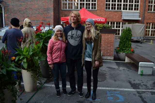 Träffade Mikkel Bang och pratade en stund med honom.