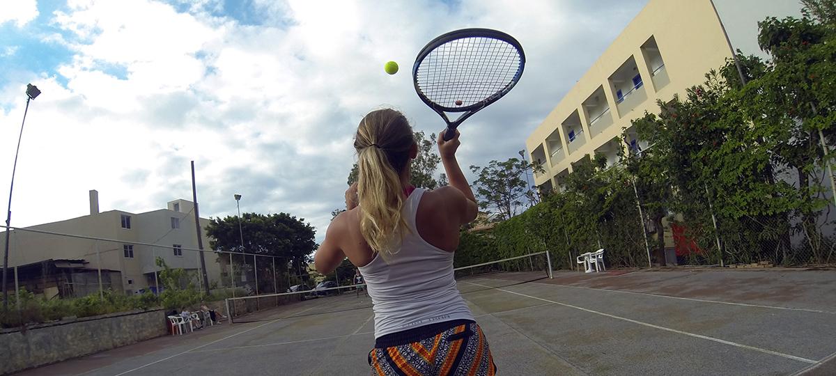 Träning för tennisarmbåge