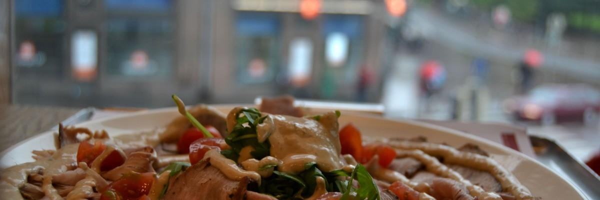 Underbart raw vegan pizza recept! Eller hur var det?