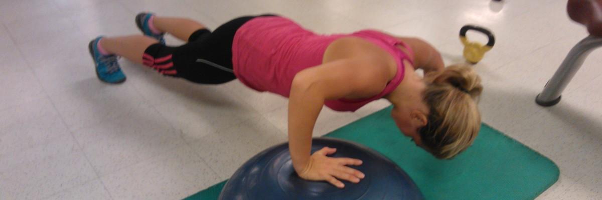 Helkroppspass i gymmet