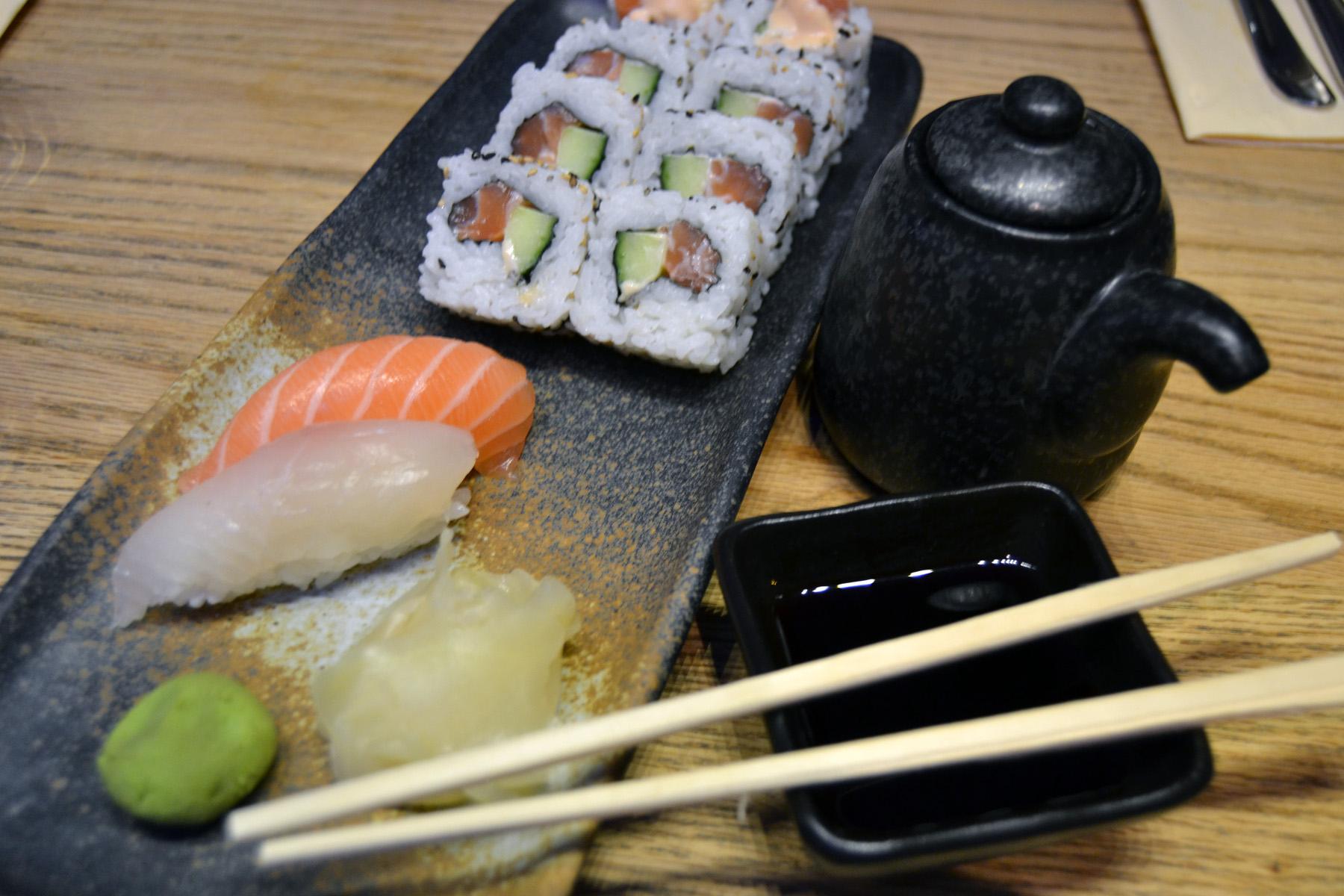 Test av sushi