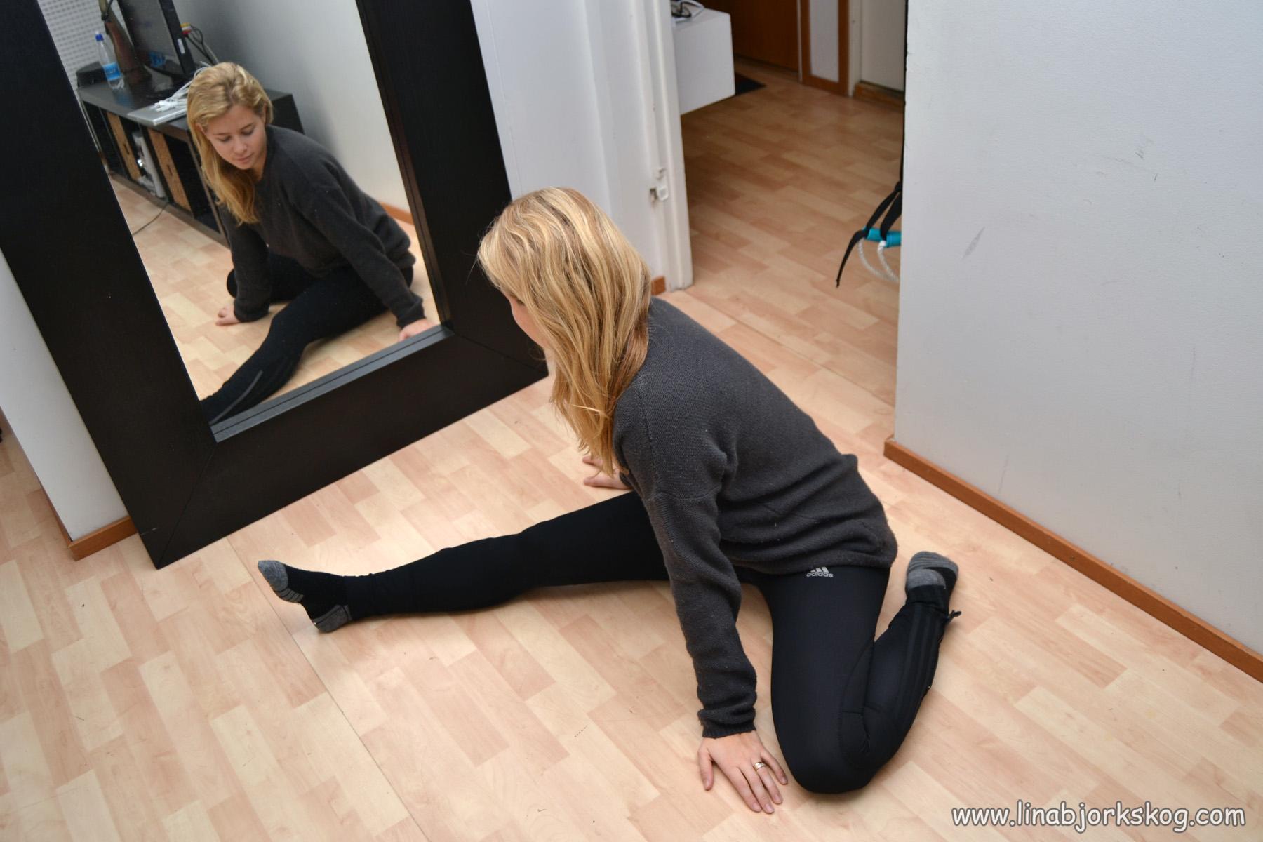 Tips för att stretcha baklår